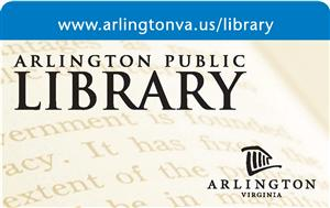 Arlington Public Library Card