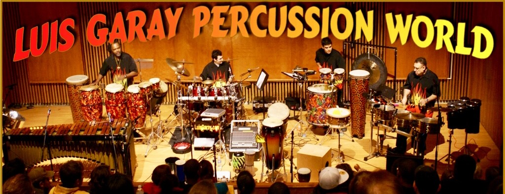 Luis Garay Percussion World Performance – Sept. 26 at 7 p.m.