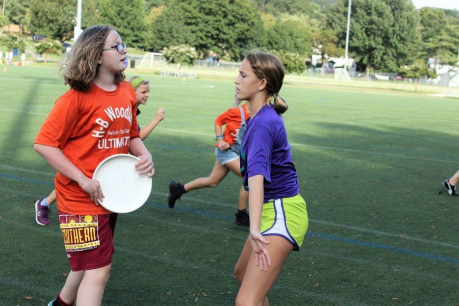 Girls' Frisbee 2018-2019