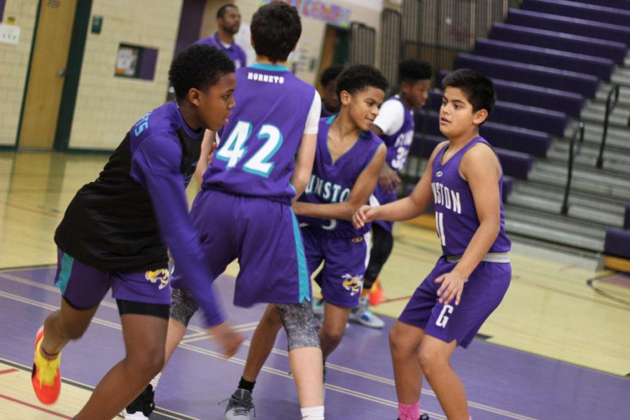 Boys' Basketball Team 2018-2019