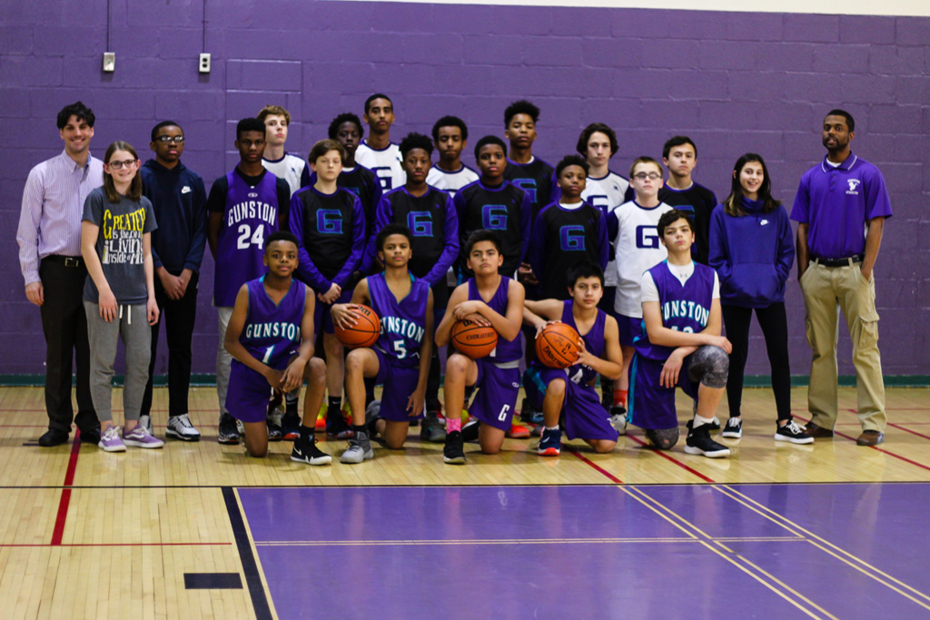 Boys' Basketball Team 2018-2019