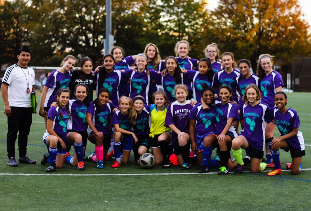 Girls' Soccer Team 2018-2019