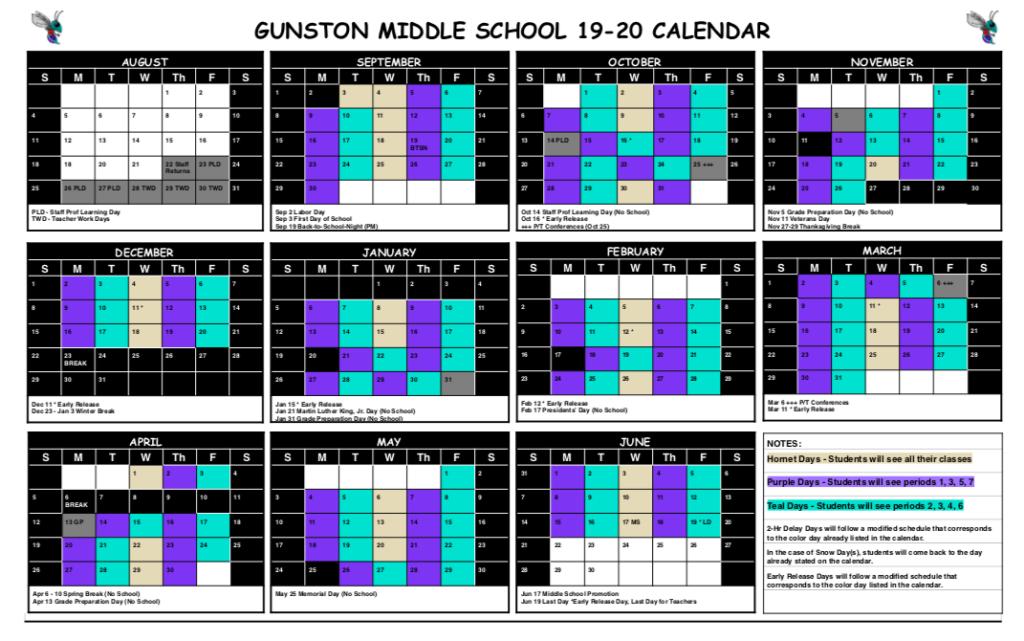 19-20 Block Calendar