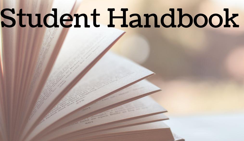 Student Handbook 2019-2020