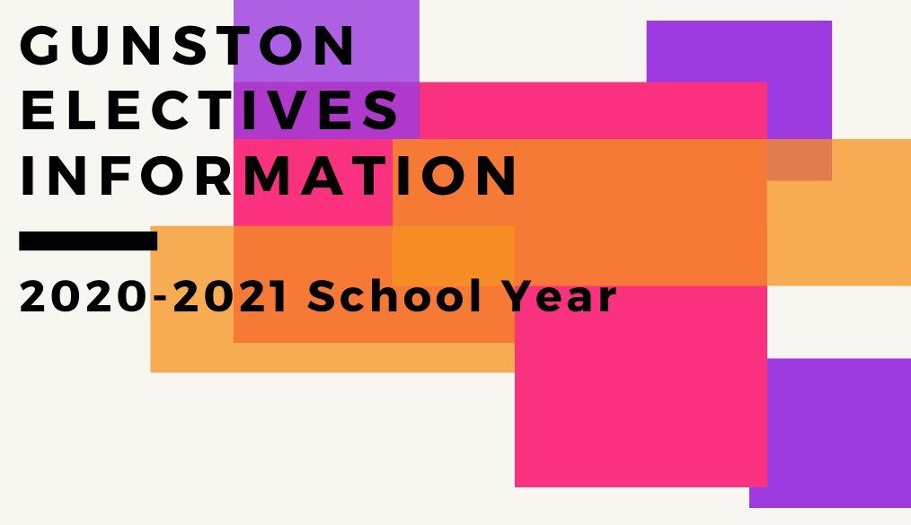 Electives Video |  2020-2021 School Year