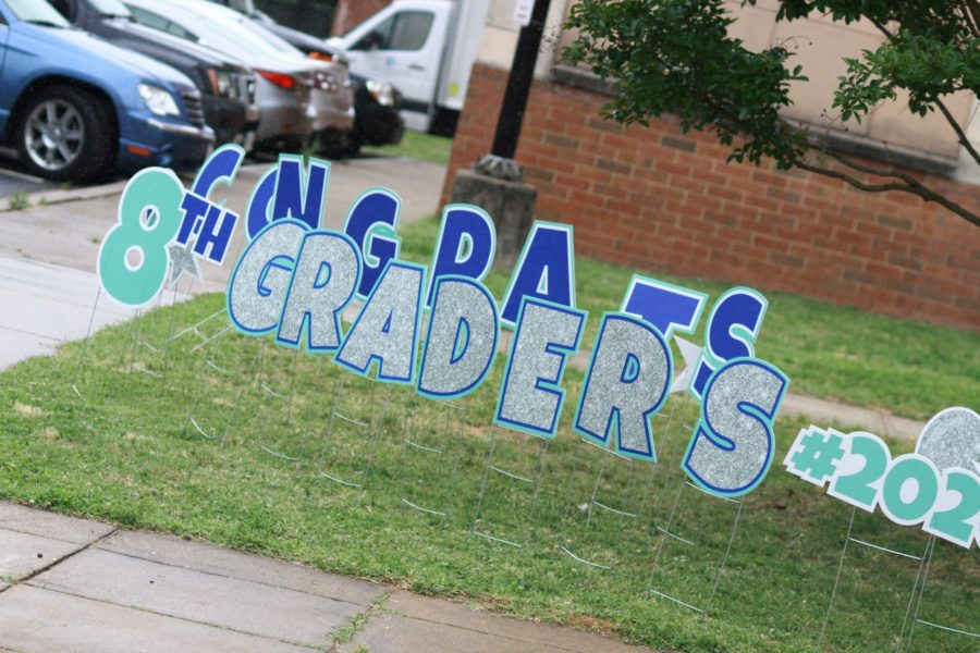 8th Grade Sign
