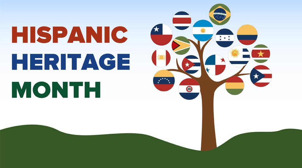 National Hispanic Heritage Month: Sept 15 – Oct 15
